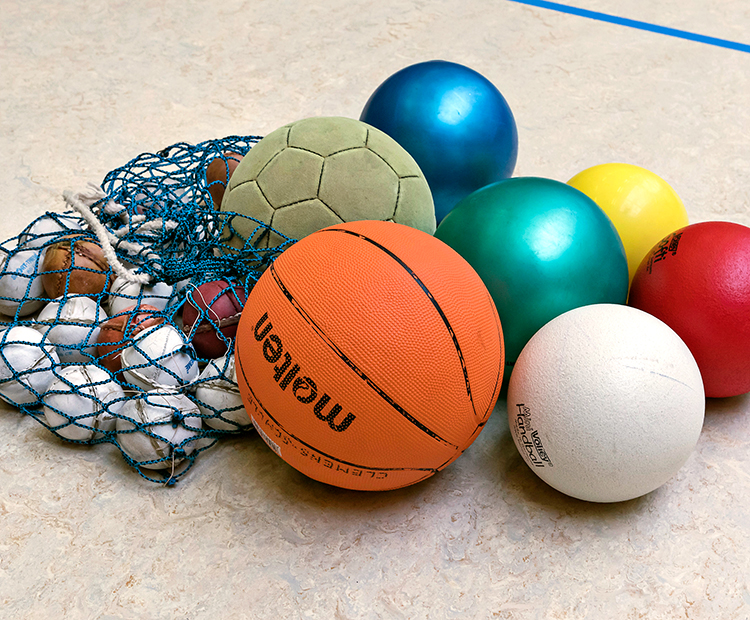 Der DSLV spendet Ballmaterial für Grundschulen