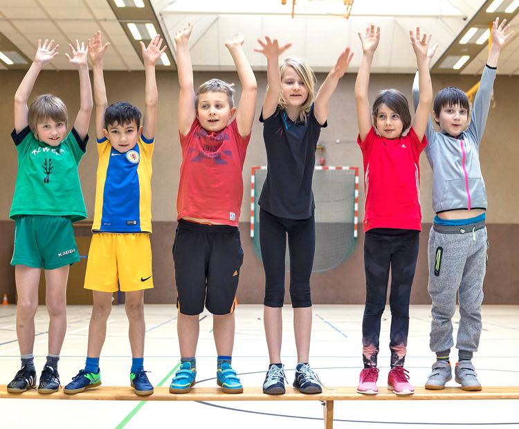 European School Sports Day Flashmob