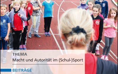 Neue Ausgabe der Zeitschrift Sportunterricht: Oktober 2020