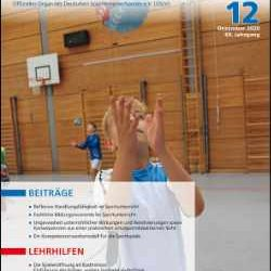 Neue Ausgabe der Zeitschrift Sportunterricht: Dezember 2020