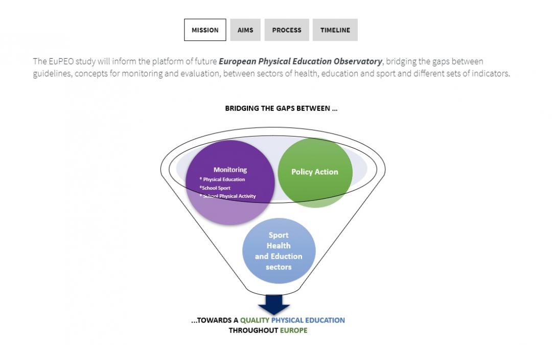 Ergebnisdarstellung des EuPEO-Projektes aus Schüler*innen und Sportlehrkräftesicht