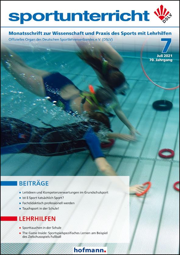 Zeitschrift sportunterricht Cover August 2020