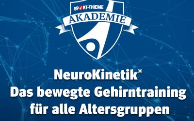 NeuroKinetik® – das bewegte Gehirntraining für alle Altersgruppen